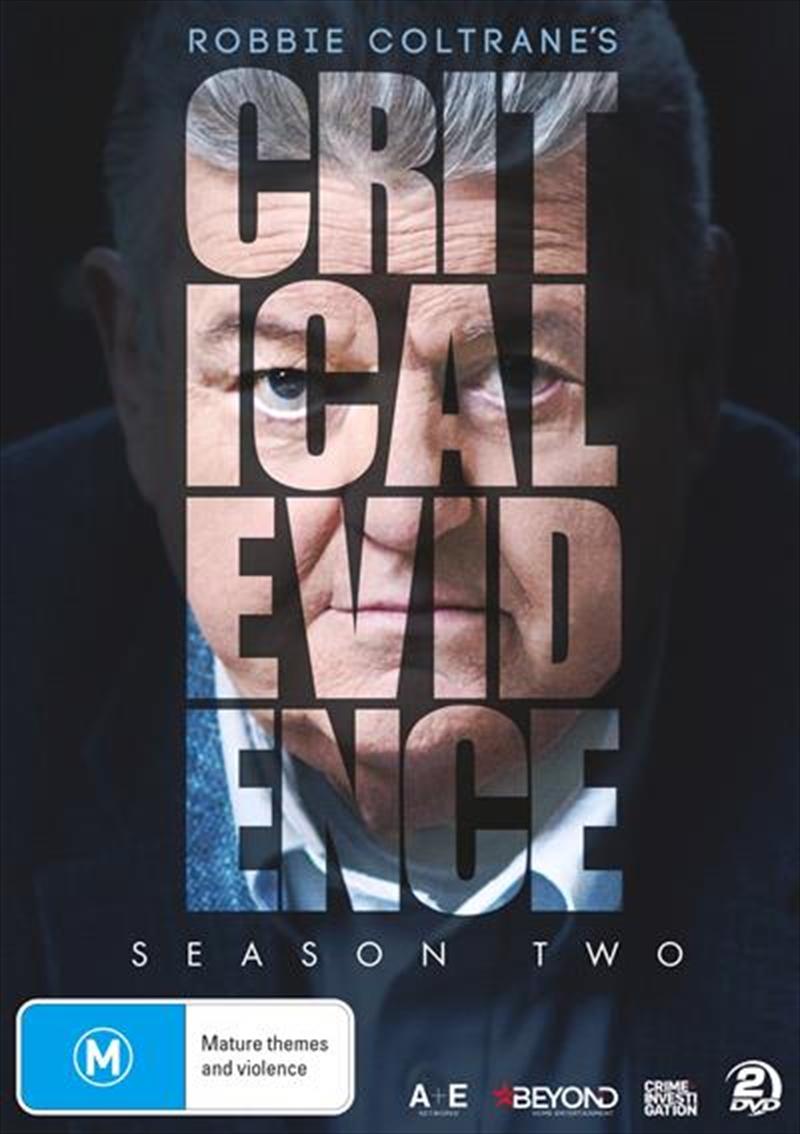 Robbie Coltrane's Critical Evidence - Season 2 | DVD