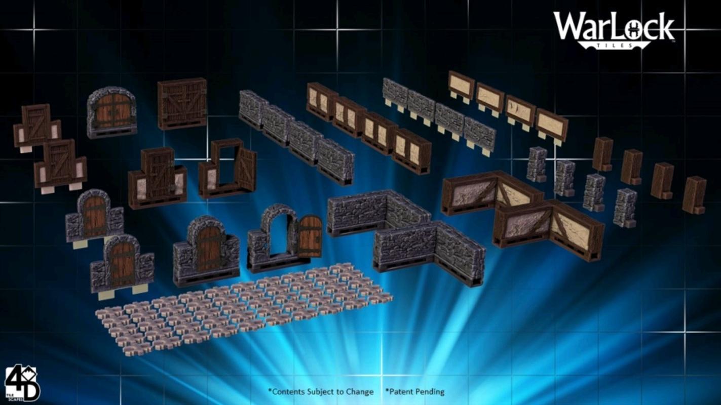 WarLock Tiles - Expansion Box 1   Merchandise