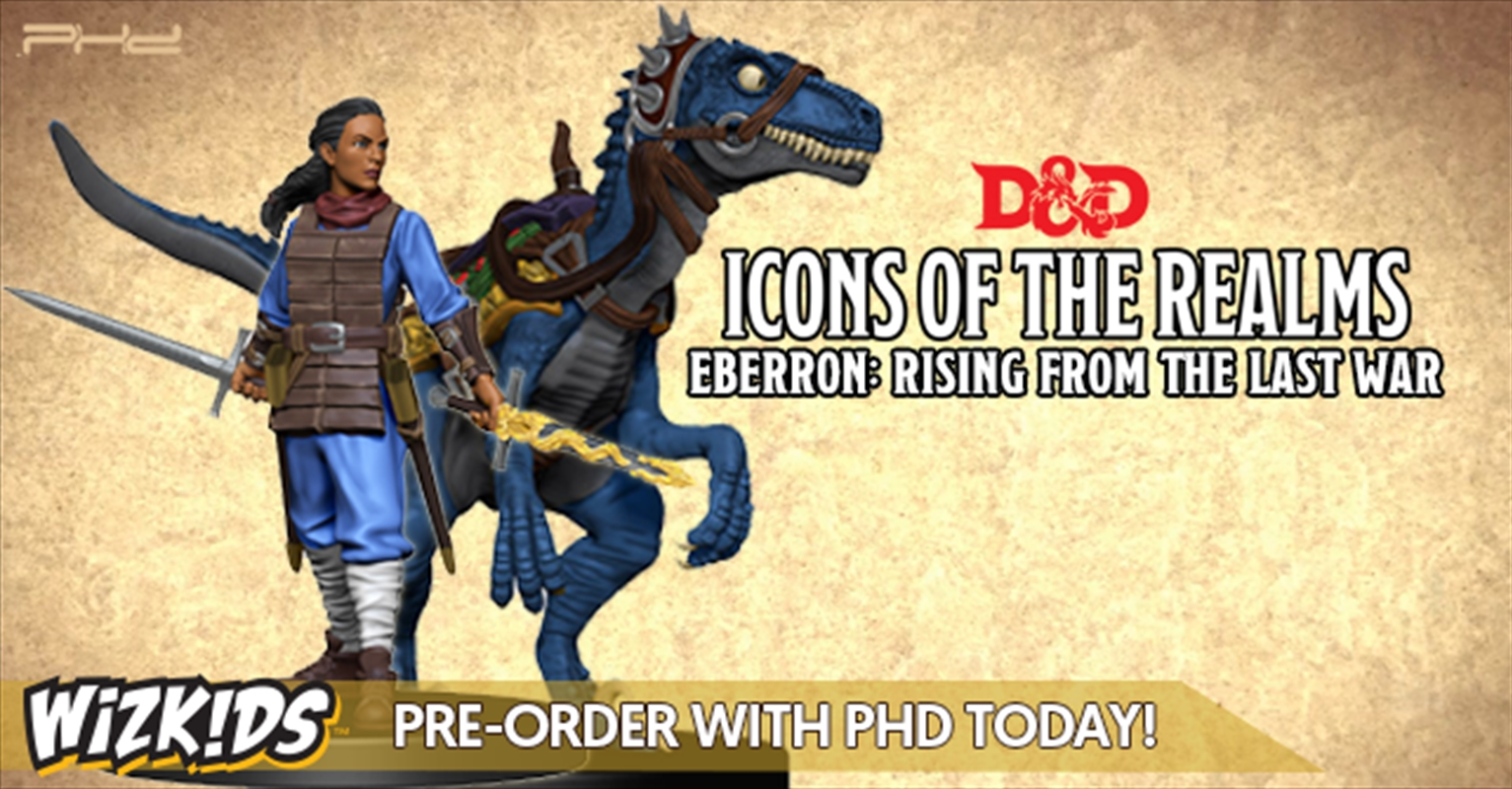 Dungeons & Dragons - Icons of the Realms Eberron: Rising From the Last War Skycoach Premium Set | Merchandise