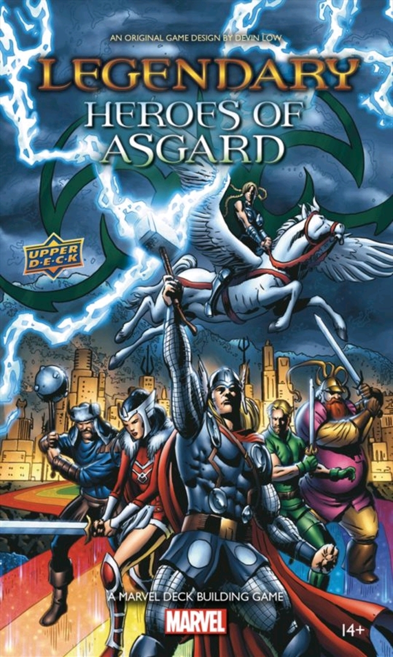 Marvel Legendary - Heroes of Asgard Deck-Building Game Expansion   Merchandise