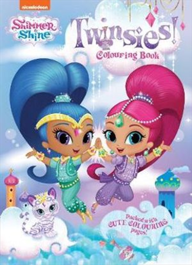 Shimmer and Shine Twinsies Colouring Book | Paperback Book