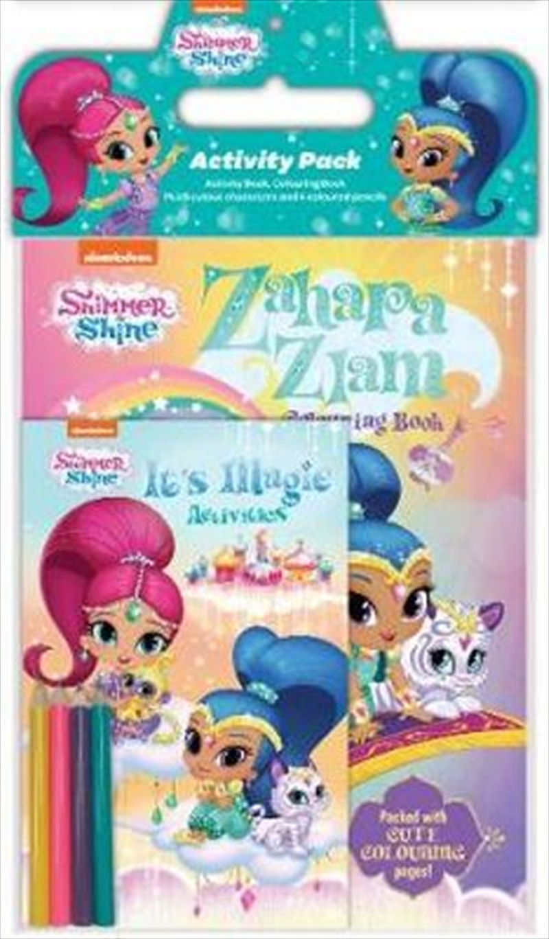 Shimmer and Shine Activity Pack   Paperback Book