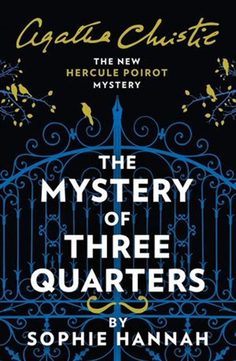 Mystery Of Three Quarters - New Hercule Poirot Mystery   Paperback Book
