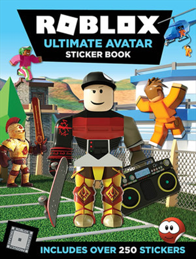 Roblox Ultimate Avatar Sticker Book - Includes Over 250 Stickers | Paperback Book