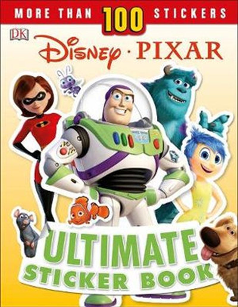 Pixar Ultimate Sticker Book | Paperback Book
