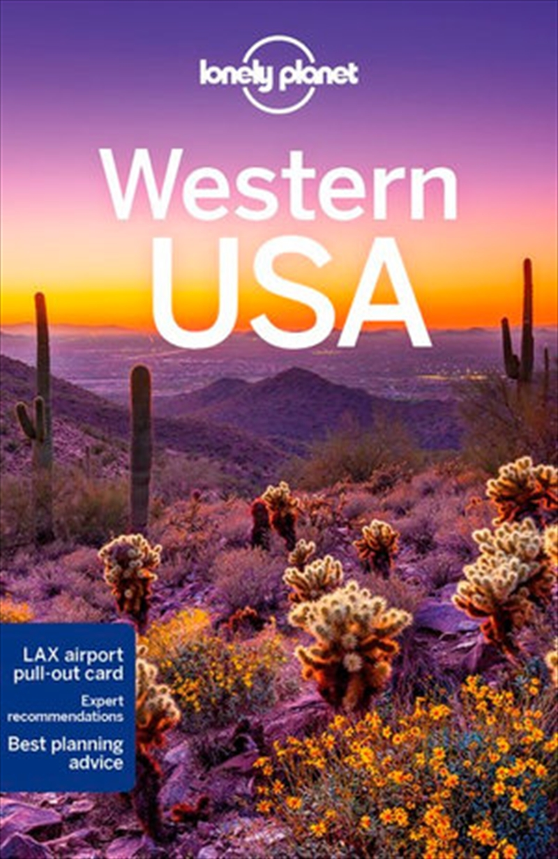 lonely planet travel guide 5th edition western usa