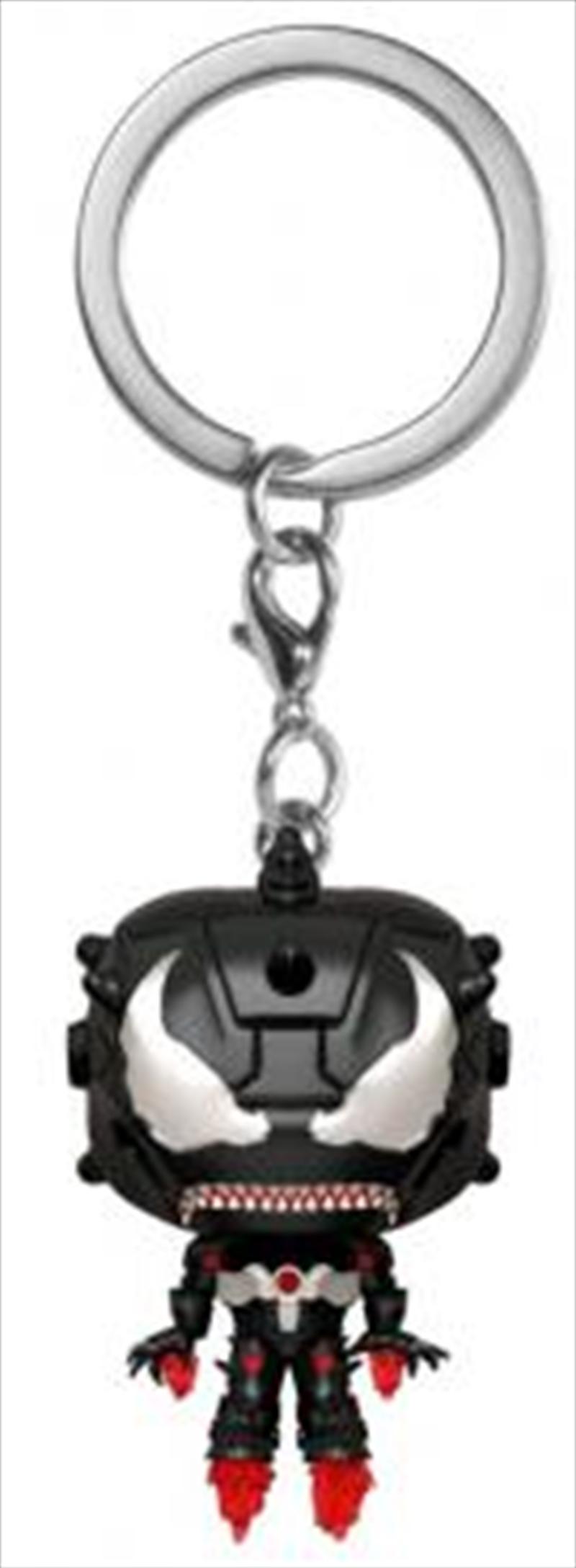 Venom - Venomized Iron Man Pocket Pop! Keychain | Pop Vinyl
