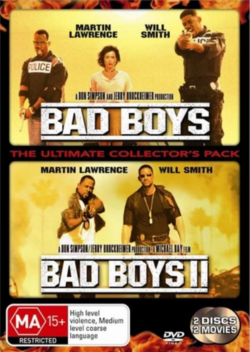 Bad Boys 1 & 2 | DVD