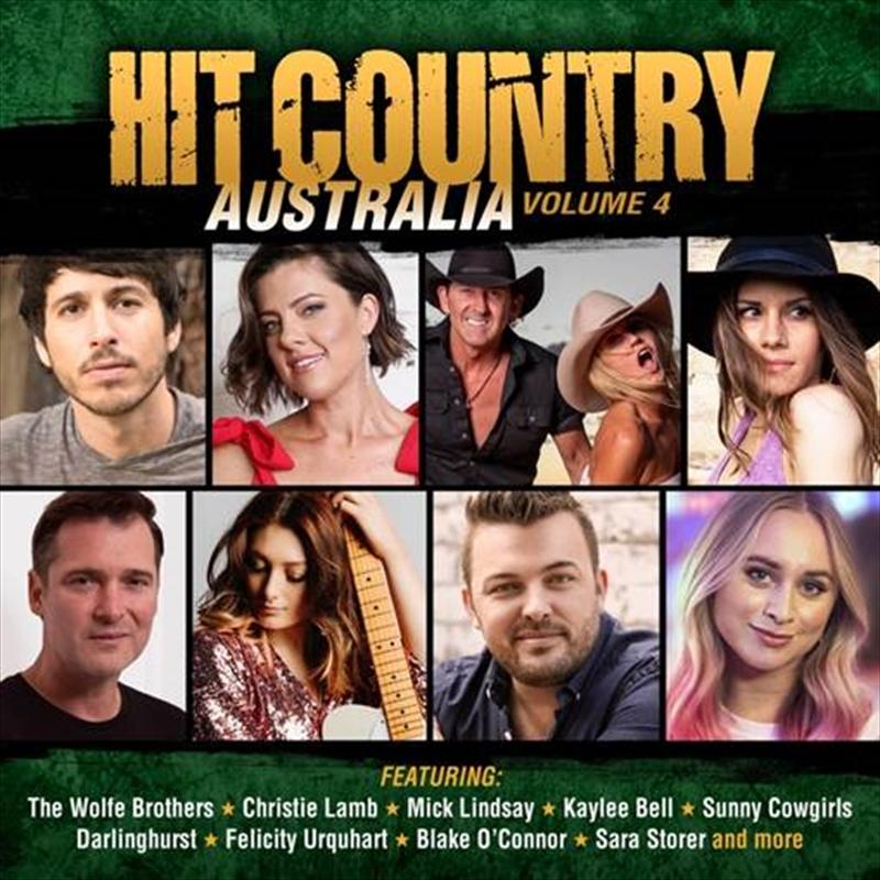 Hit Country Australia - Vol 4 | CD