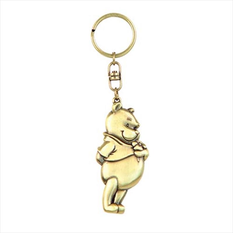 Keyring Brass Winnie the Pooh Pooh   Accessories