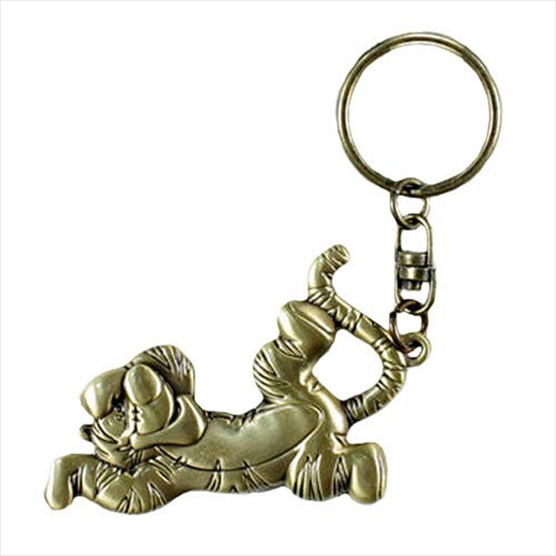 Keyring Brass Winnie the Pooh Tigger   Accessories