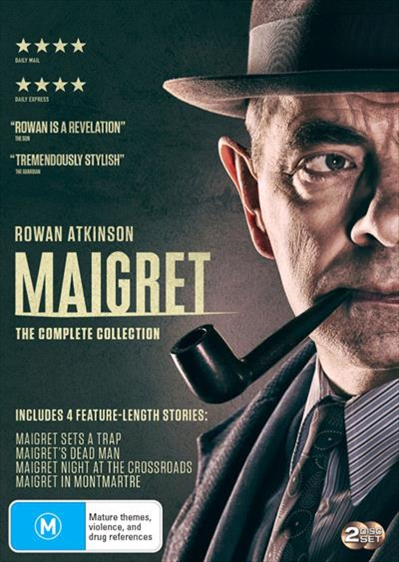 Maigret - Series 1-2 | Boxset | DVD