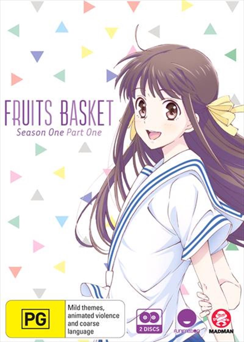 Fruits Basket - Season 1 - Part 1 - Eps 1-13   DVD