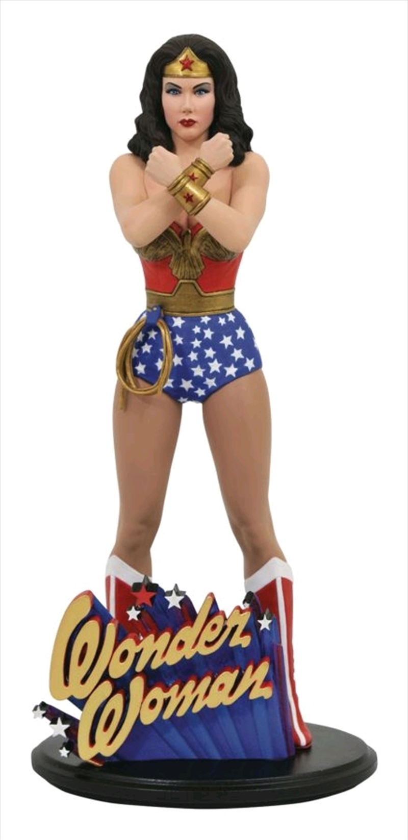 Wonder Woman - Lynda Carter PVC Statue | Merchandise