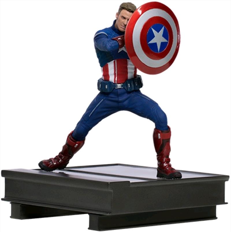 Avengers 4: Endgame - Captain America 2023 1:10 Scale Statue   Merchandise