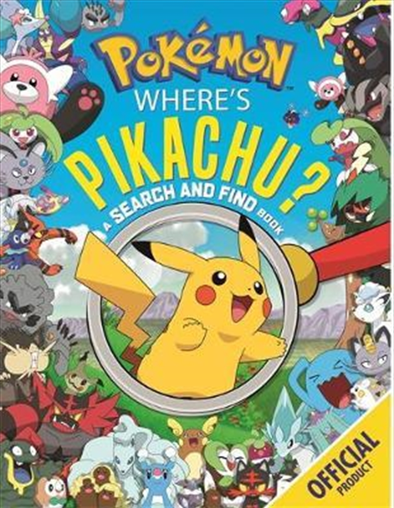 Where's Pikachu? A Search and Find Book | Paperback Book