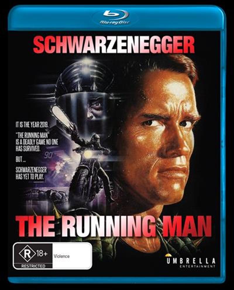 Running Man, The   Blu-ray