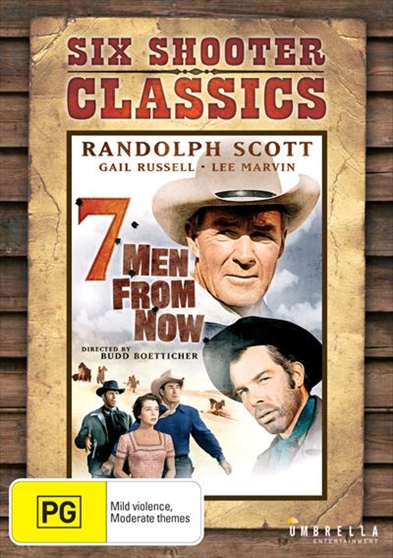 7 Men From Now | Six Shooter Classics | DVD
