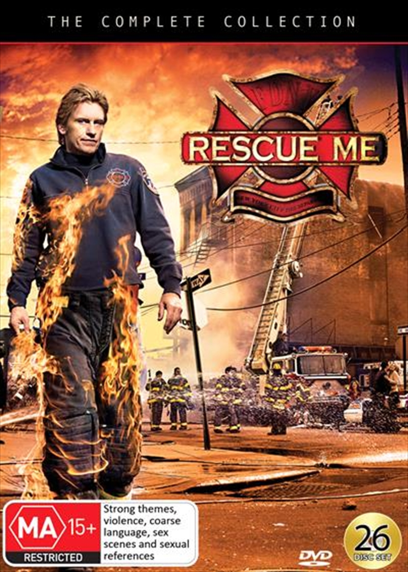Rescue Me - Season 1-7 | Complete Collection | DVD
