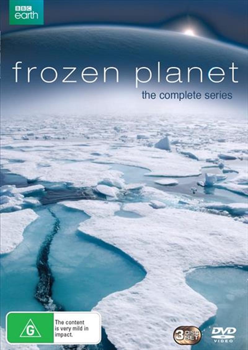 Frozen Planet   DVD