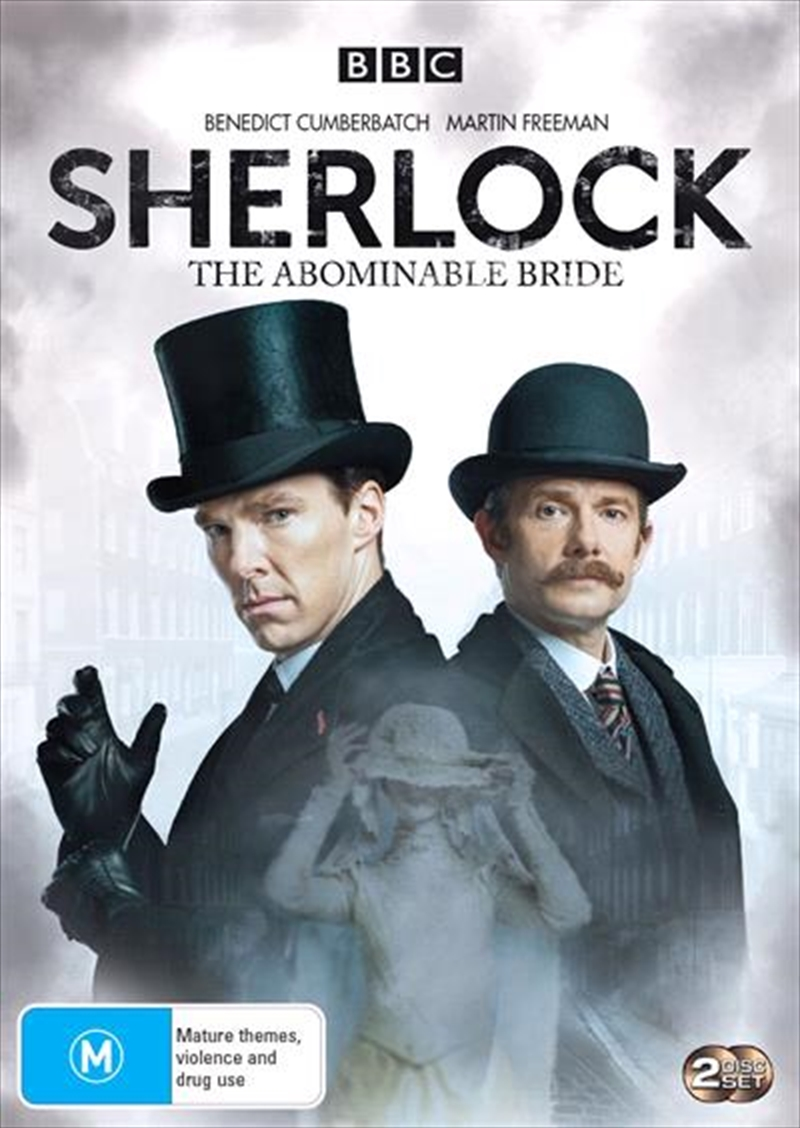 Sherlock Holmes -  The Abominable Bride   DVD