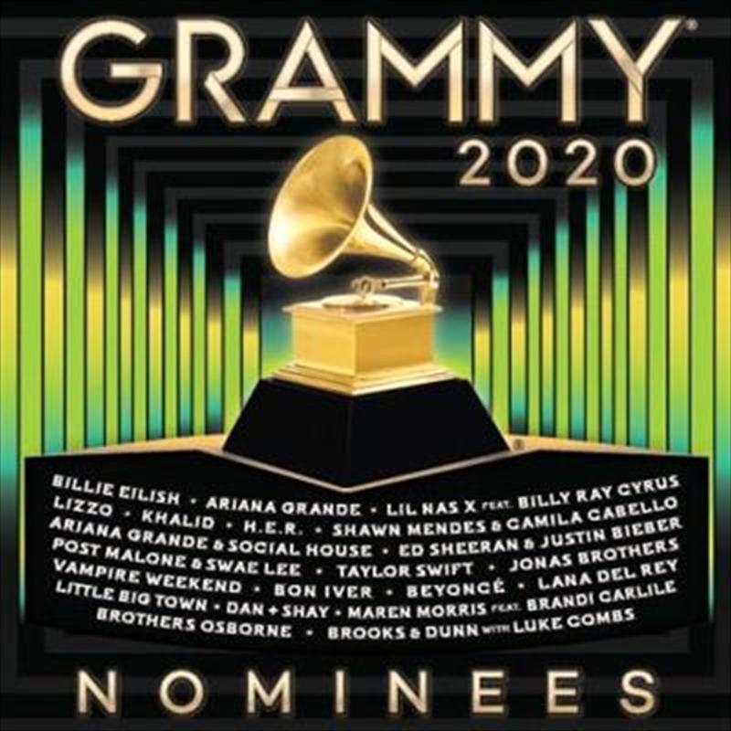 2020 Grammy Nominees   CD