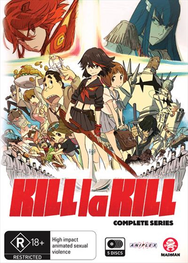 Kill La Kill | Complete Series | DVD
