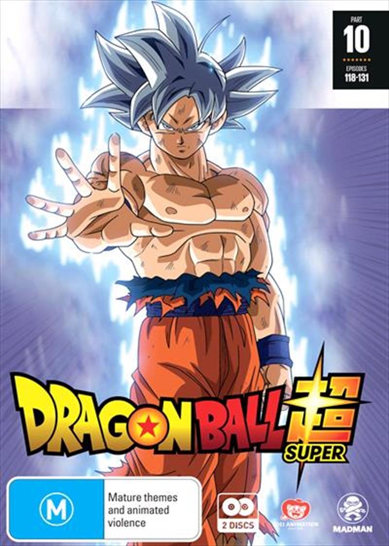 Dragon Ball Super - Part 10 - Eps 118-131 | DVD