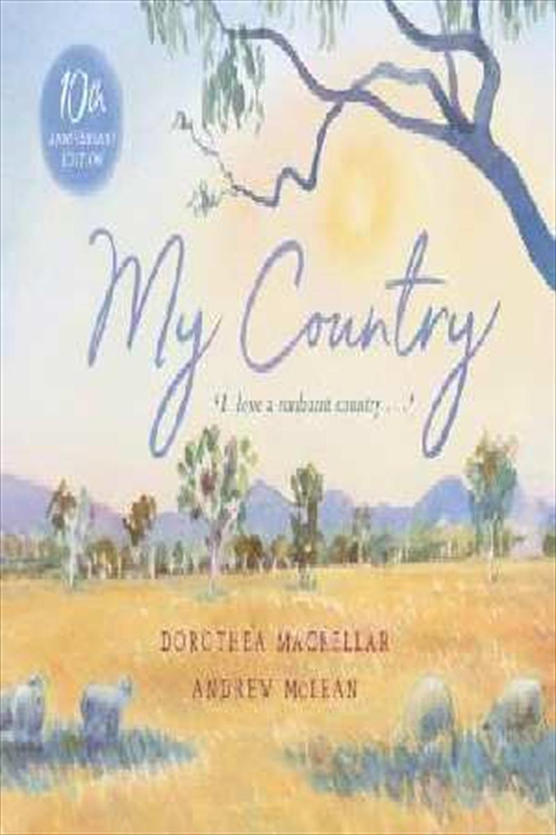 My Country   Hardback Book