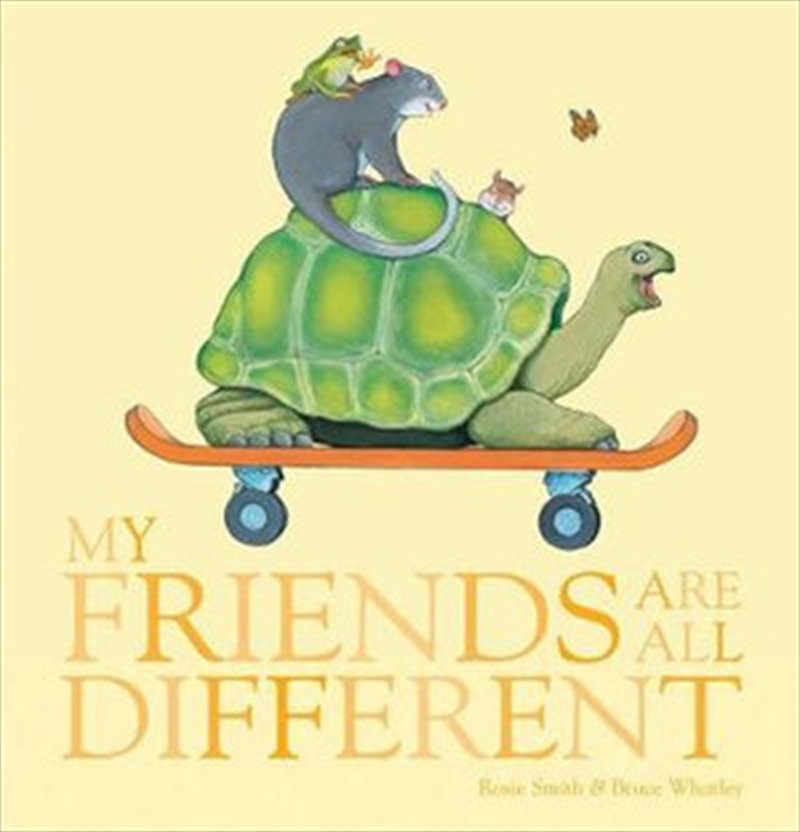 My Friends Are All Different | Hardback Book