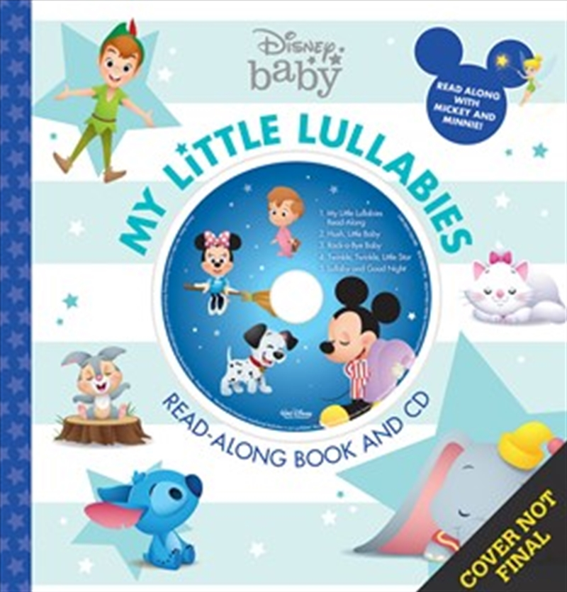 My Little Lullabies Book And CD | Hardback Book