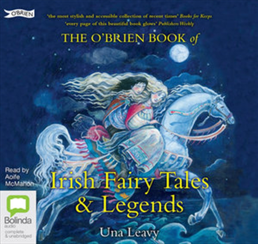 O'Brien Book Of Irish Fairy Tales And Legends | Audio Book