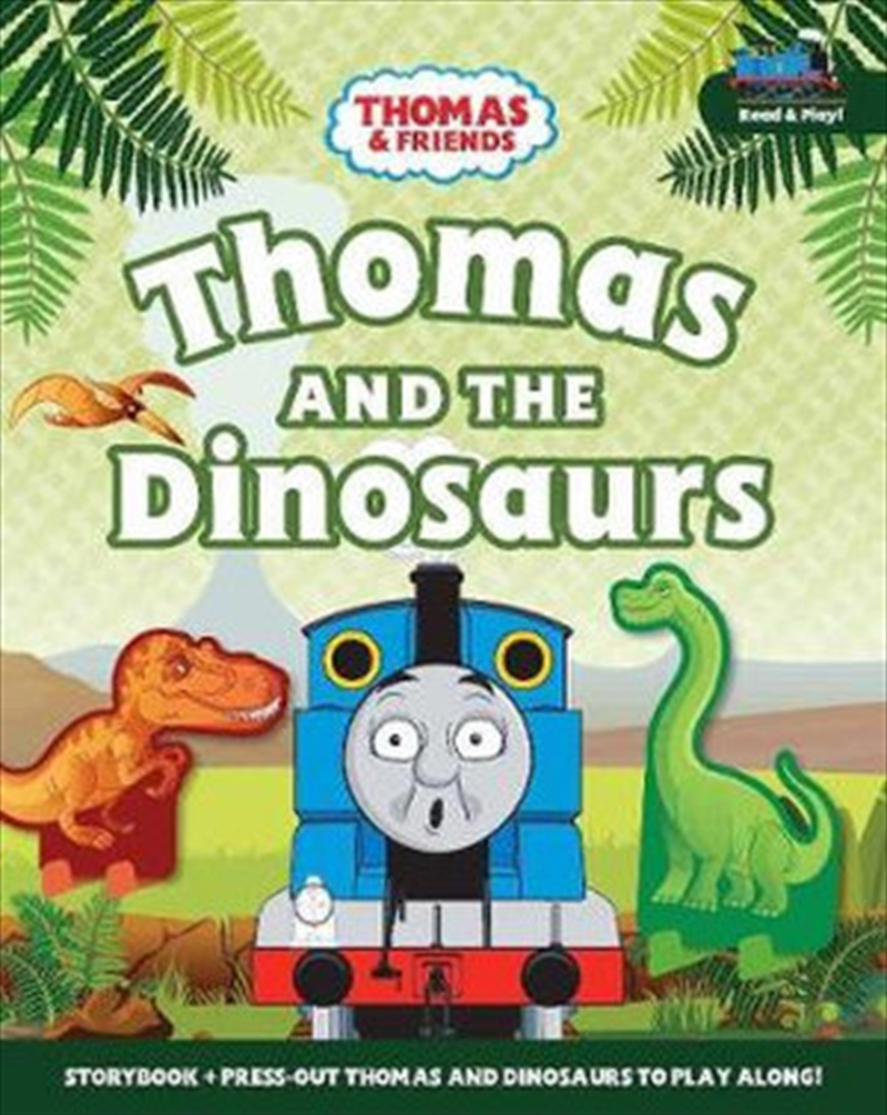 Thomas & Friends: Thomas and the Dinosaurs - A Read & Play Book | Board Book