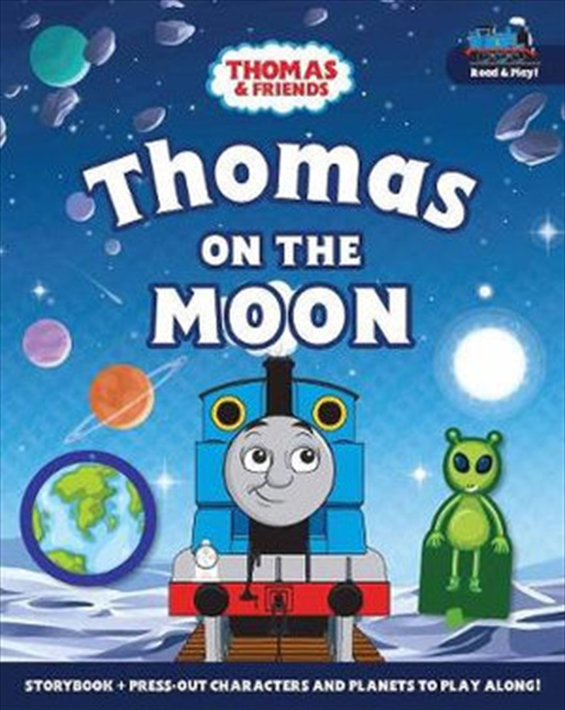 Thomas On The Moon: A Read & Play Book | Board Book