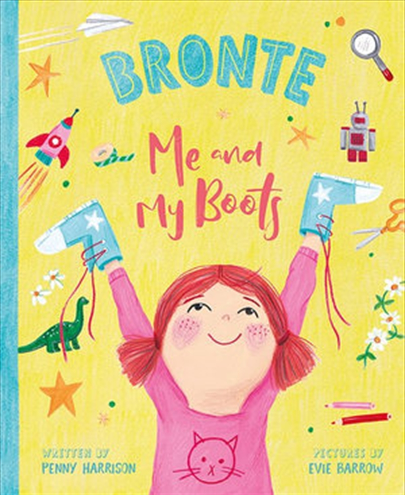 Me And My Boots | Hardback Book