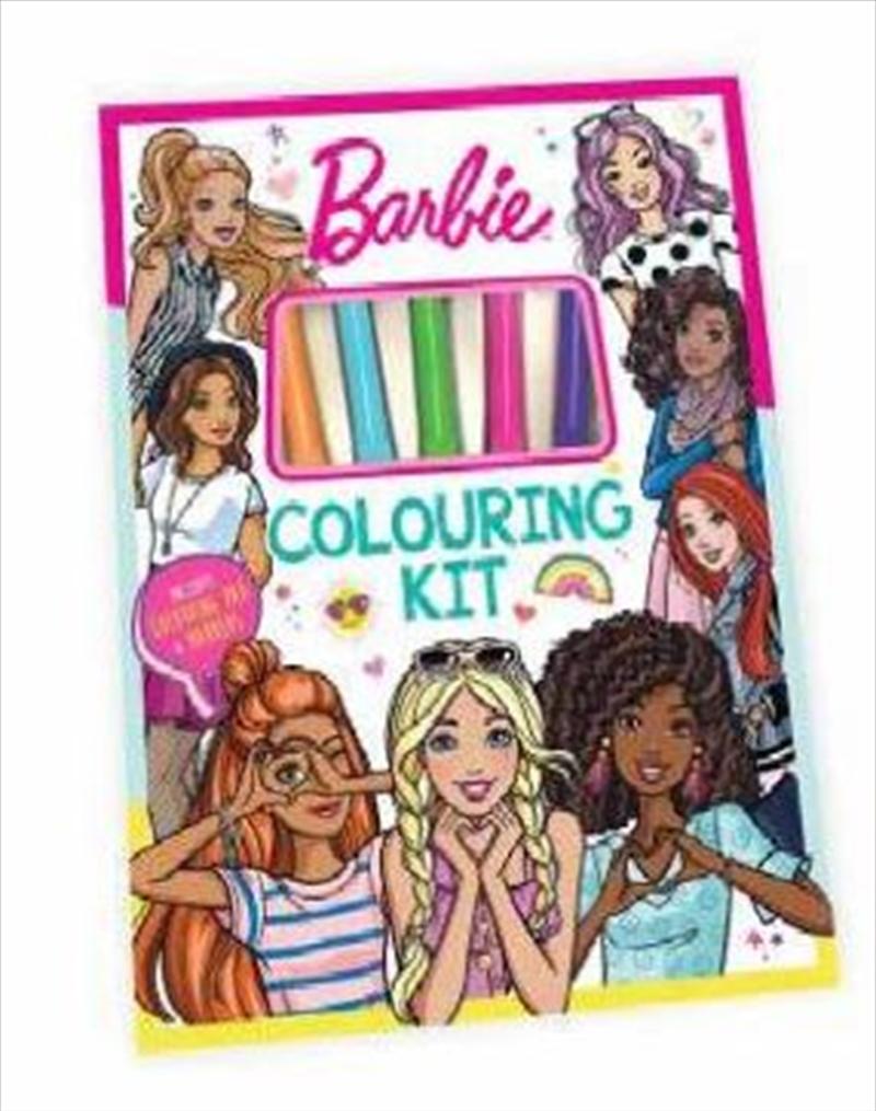 Barbie: Colouring Kit | Paperback Book