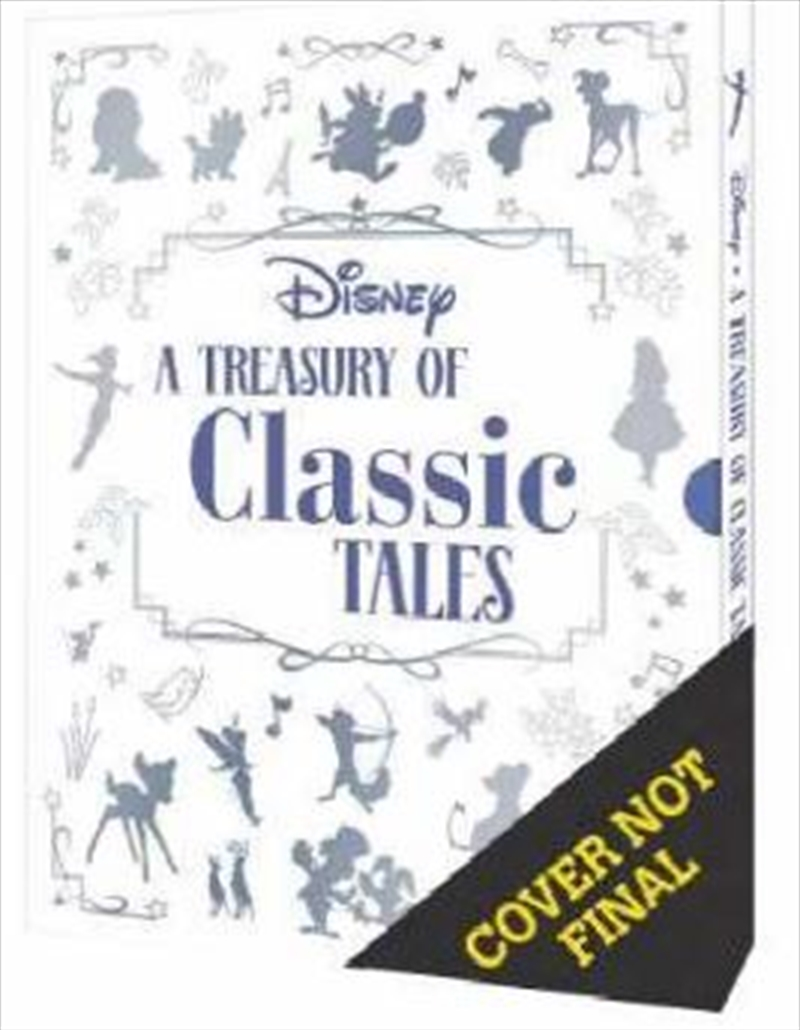 A Treasury Of Classic Tales - Disney Deluxe Treasury | Hardback Book