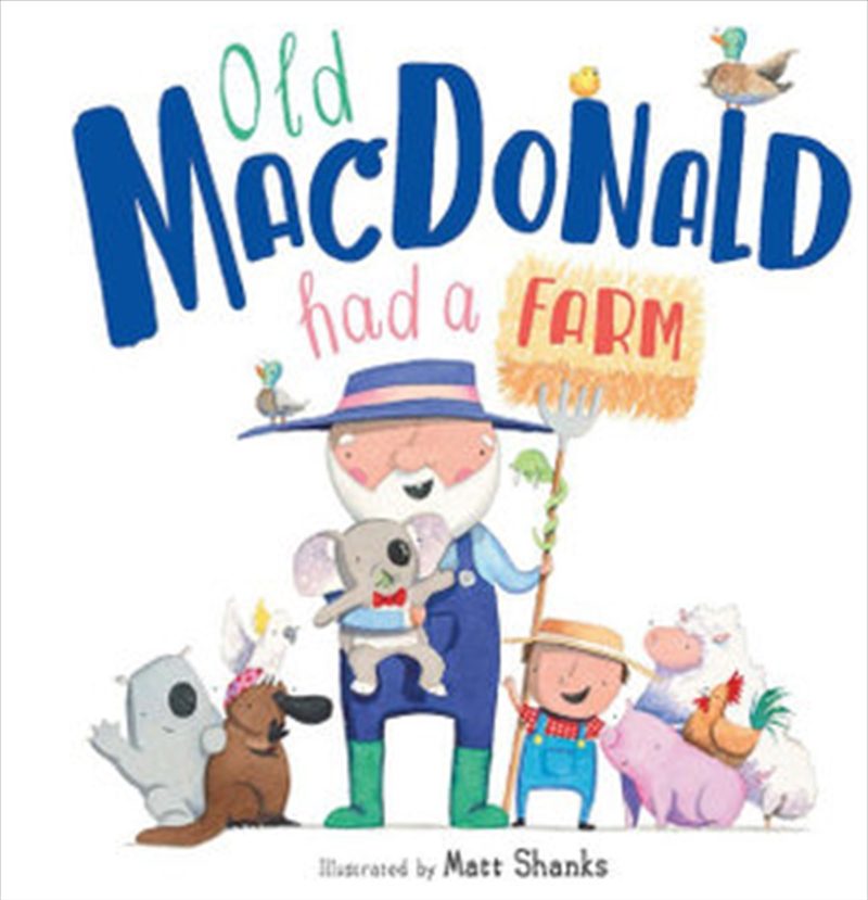 Old Macdonald Had A Farm | Hardback Book