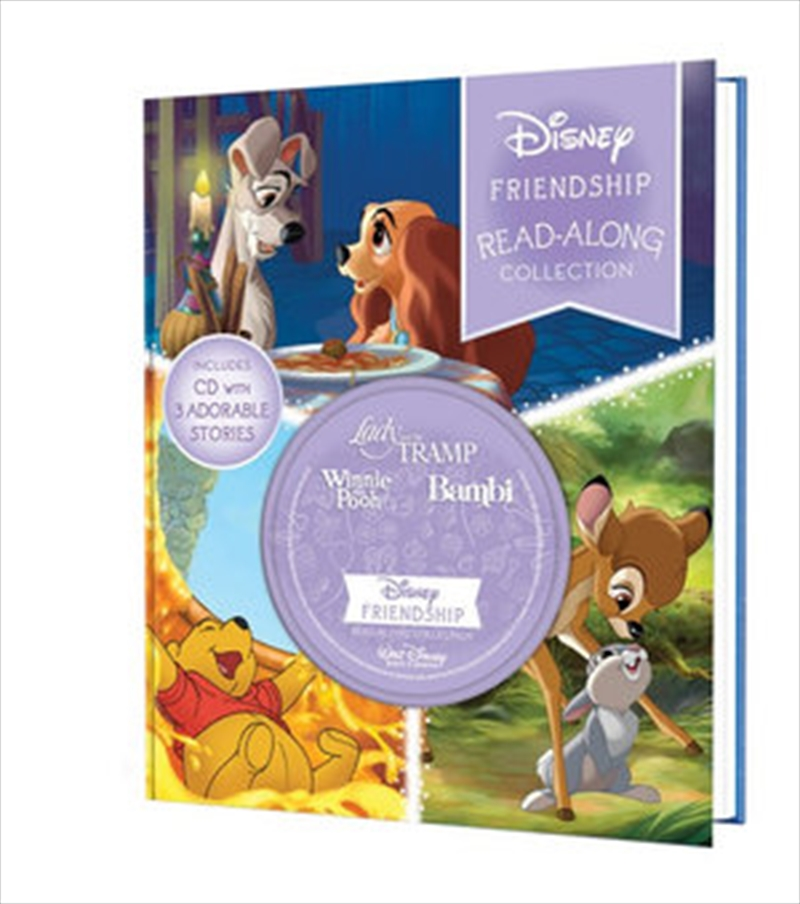 Read-Along Storybook and CD Collection : 3-in-1 Deluxe bind-up - Disney Friendship | Hardback Book