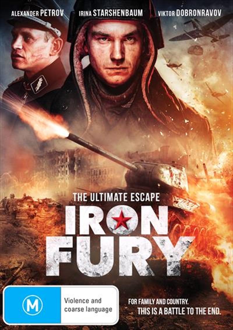 Iron Fury | DVD