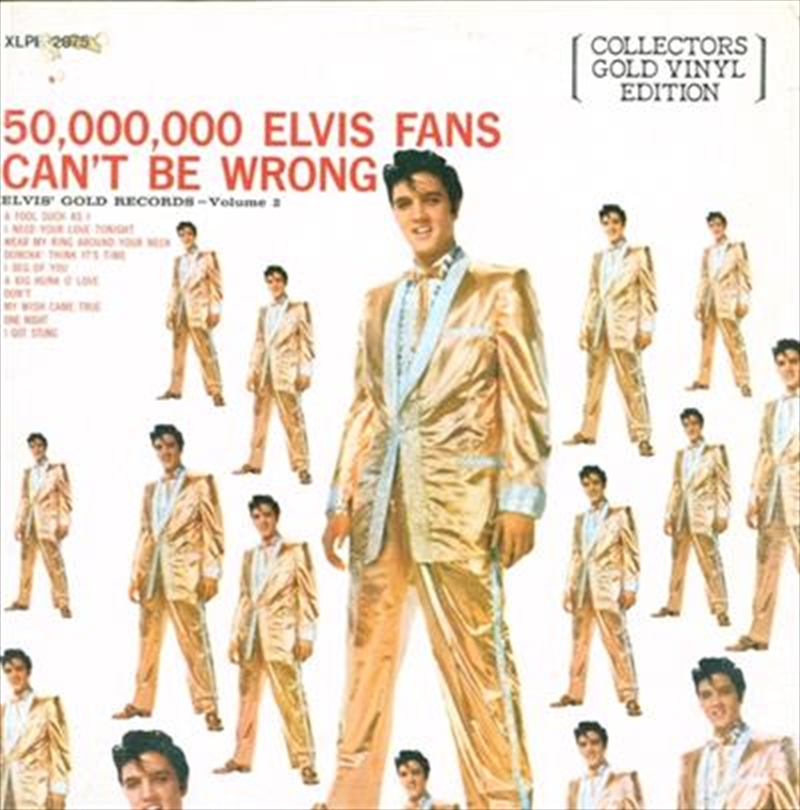 50 Million Elvis Fans Can't Be Wrong - Vol 2 | Vinyl