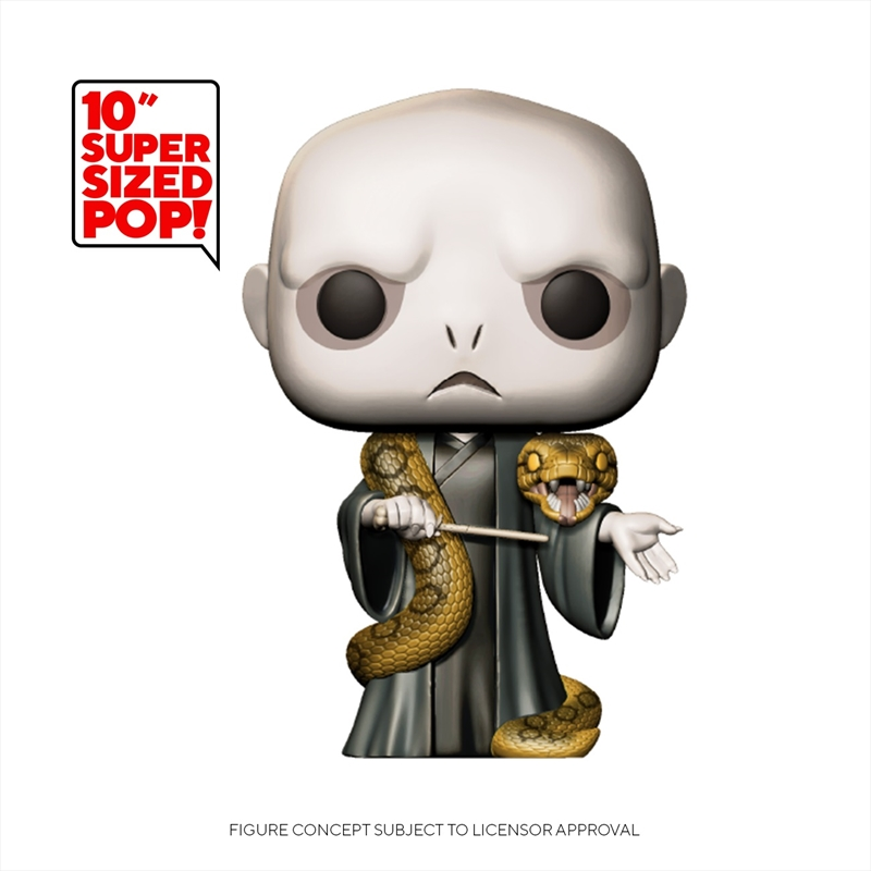 """Harry Potter - Voldemort w/Nagini 10"""" Pop! Vinyl   Pop Vinyl"""