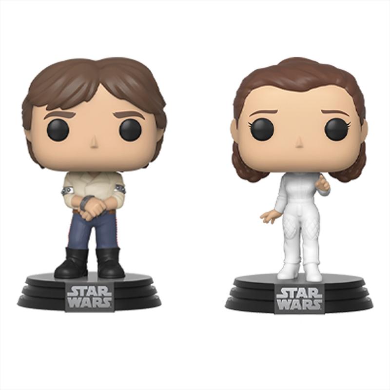Star Wars - Han & Leia Pop! 2pk   Pop Vinyl