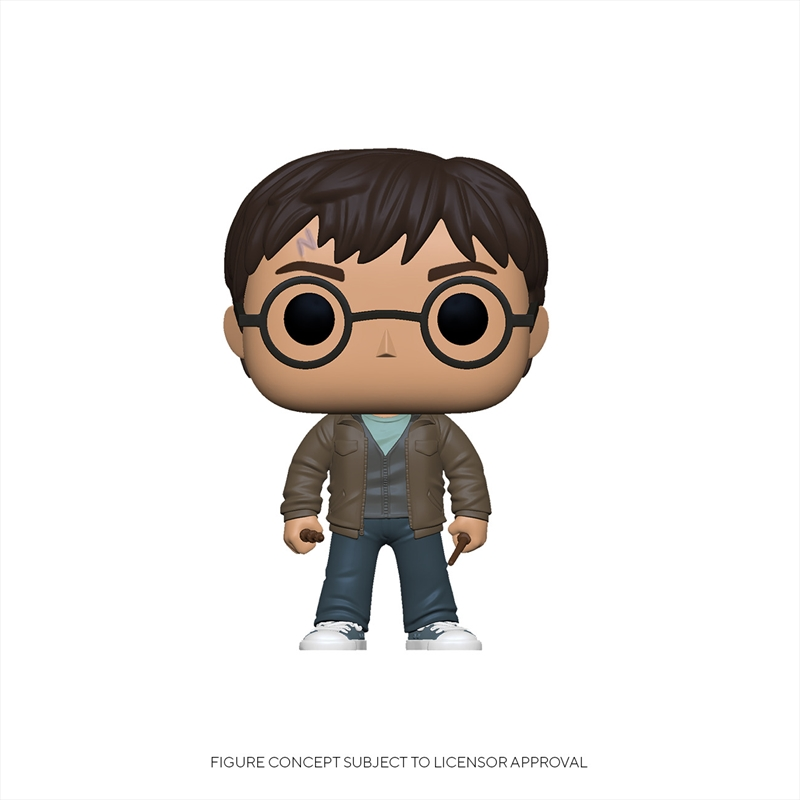 Harry Potter - Harry w/Two Wands Pop! RS | Pop Vinyl
