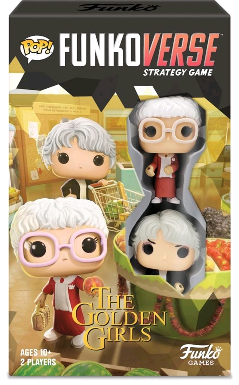 Funkoverse - Golden Girls 101 2-pack Expandalone Strategy Board Game | Pop Vinyl