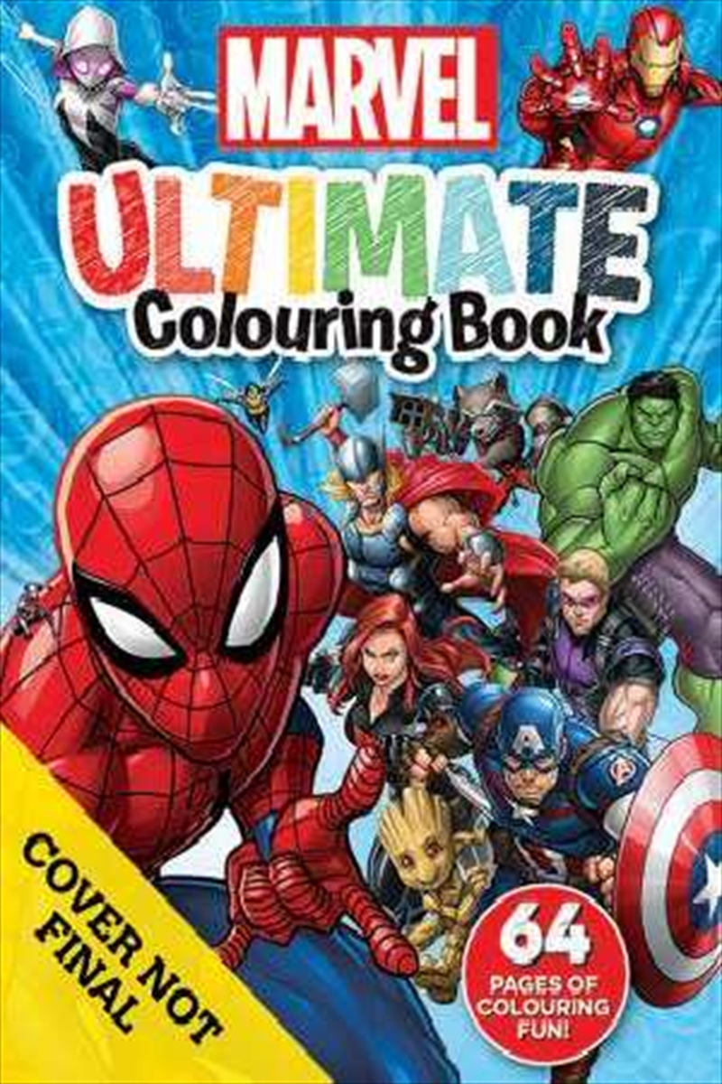 Marvel: Ultimate Colouring Book | Paperback Book