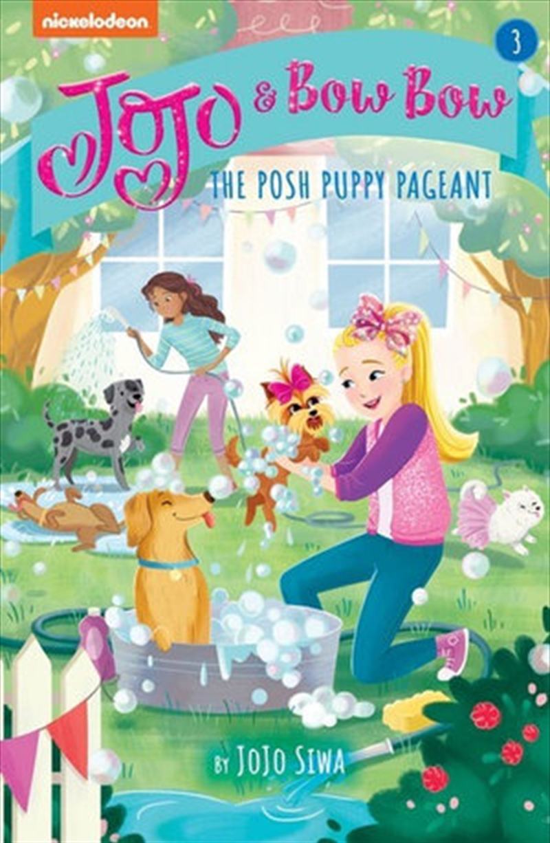 JoJo and BowBow: The Posh Puppy Pageant   Paperback Book