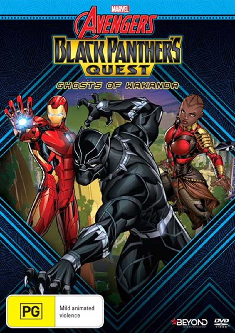 Avengers Assemble - Black Panther's Quest - Ghosts Of Wakanda | DVD