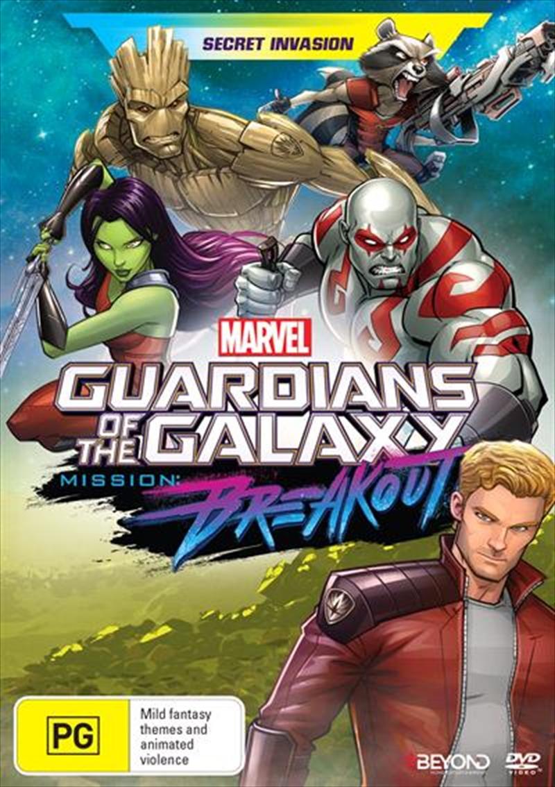 Guardians Of The Galaxy - Secret Invasion | DVD