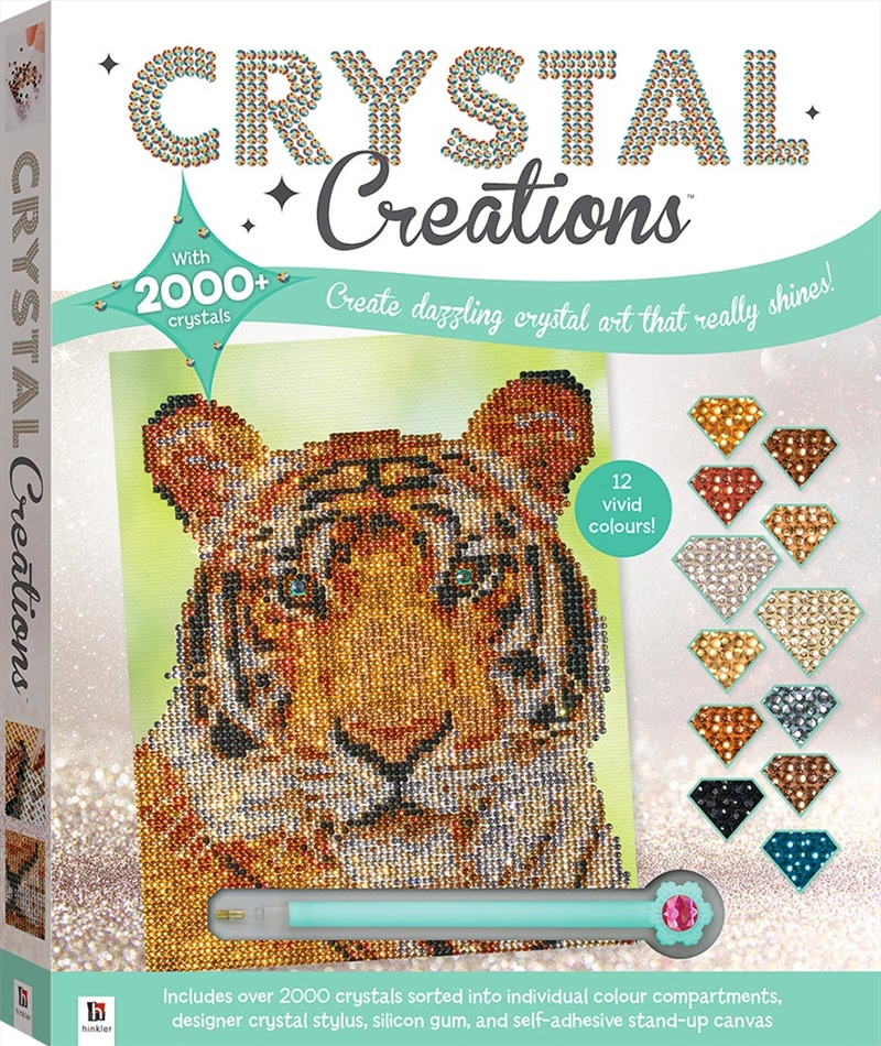 Crystal Creations: Wild Tiger | Merchandise